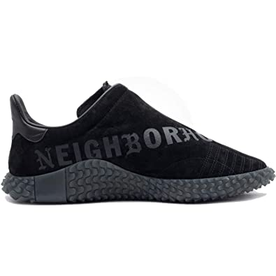 newest 78ec3 2864c adidas Mens Kamanda 01 NBHD Neighborhood Black Suede Size 8
