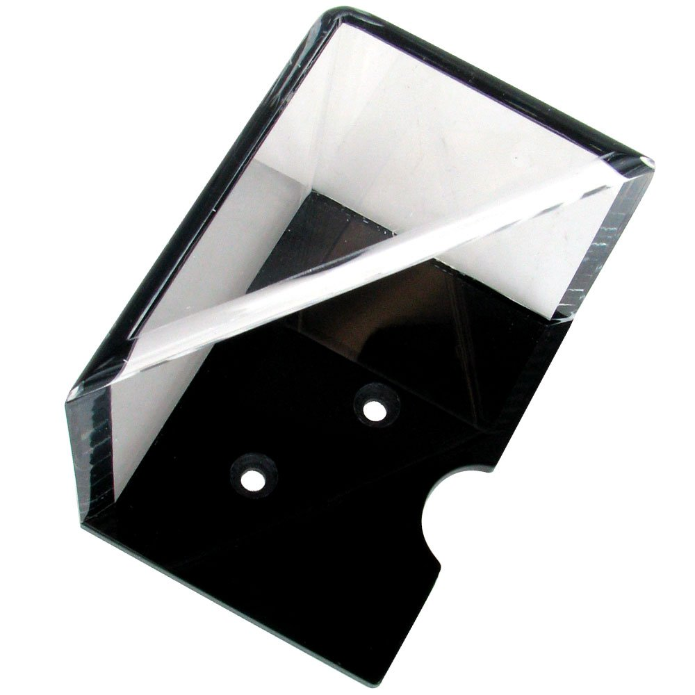 Trademark Global 10-3101 4-Deck Professional Grade Acrylic Discard Holder with Top, Clear