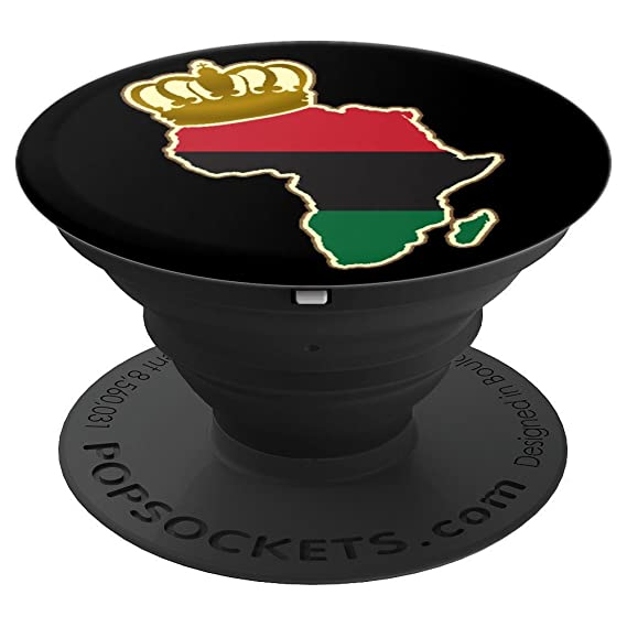 Amazon African Continent King Royal Crown Red Green Black