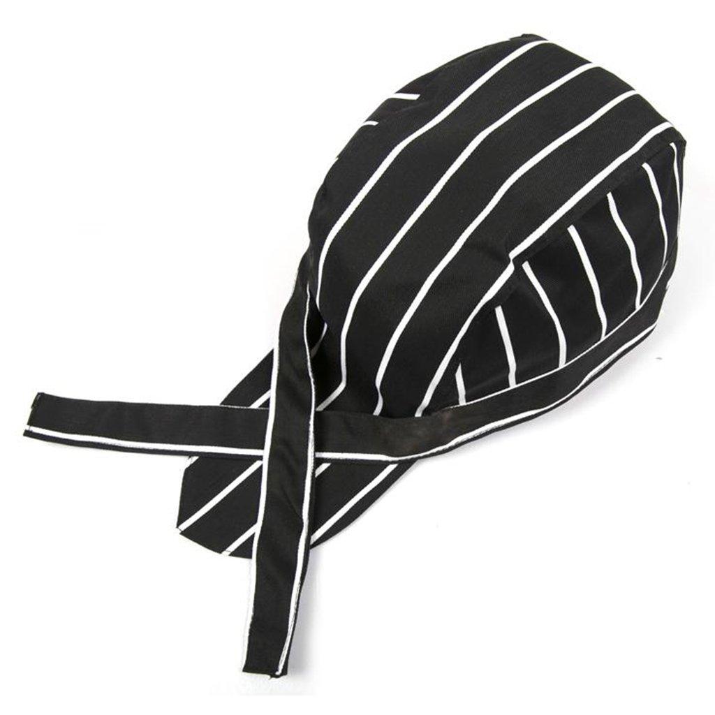 perfk 3 pezzi Berretti Cappellini Cap da Hotel Chef Cuoco Cappello da Cuoco
