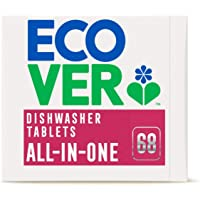 Ecover Ecover All-in-one Dish Washer Tablets 68s, 68 count