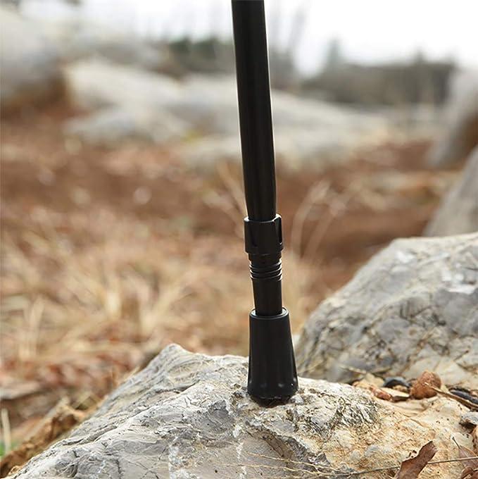 MUCHEN SHOP Walking Stick Rubber Tips,10 Pieces Alpenstock Head Cover Shooting Stick Replacement Ferrules for Trekking Poles Trekking Pole Tip Protectors Walking Stick Caps