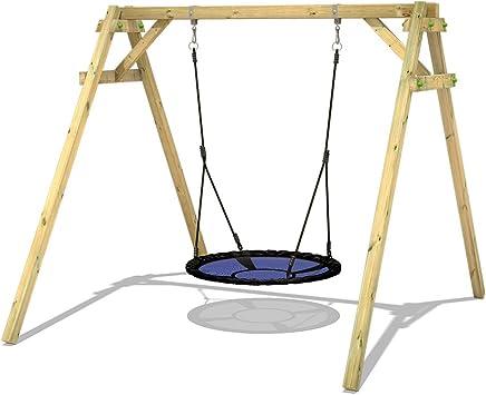 wickey columpio balancín Andamio con Nest Smart Rush Jardín de columpio balancín estructura: Amazon.es: Bricolaje y herramientas