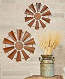 Cheap Craft Outlet 15″ Rusty Windmill Decor Set (2 Piece)