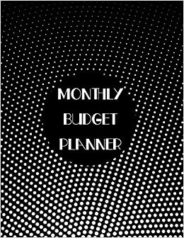 monthly budget planner 12 month budget planner book budget