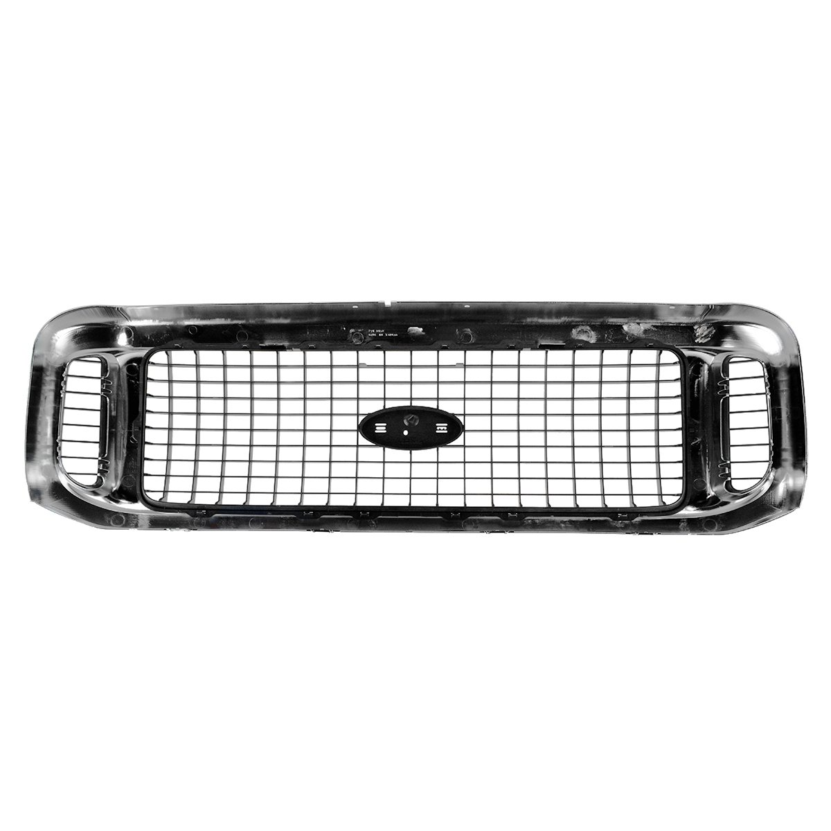 Grille Assembly Chrome /& Charcoal Gray for 00-04 Ford Excursion