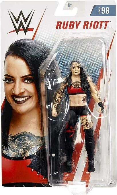 WWE Series 98 Mattel Toy Wrestling Action Figure Ruby Riott