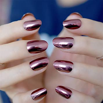 Amazoncom Stiletto Nails Ruby Tuesday Light Rose Pink Almond