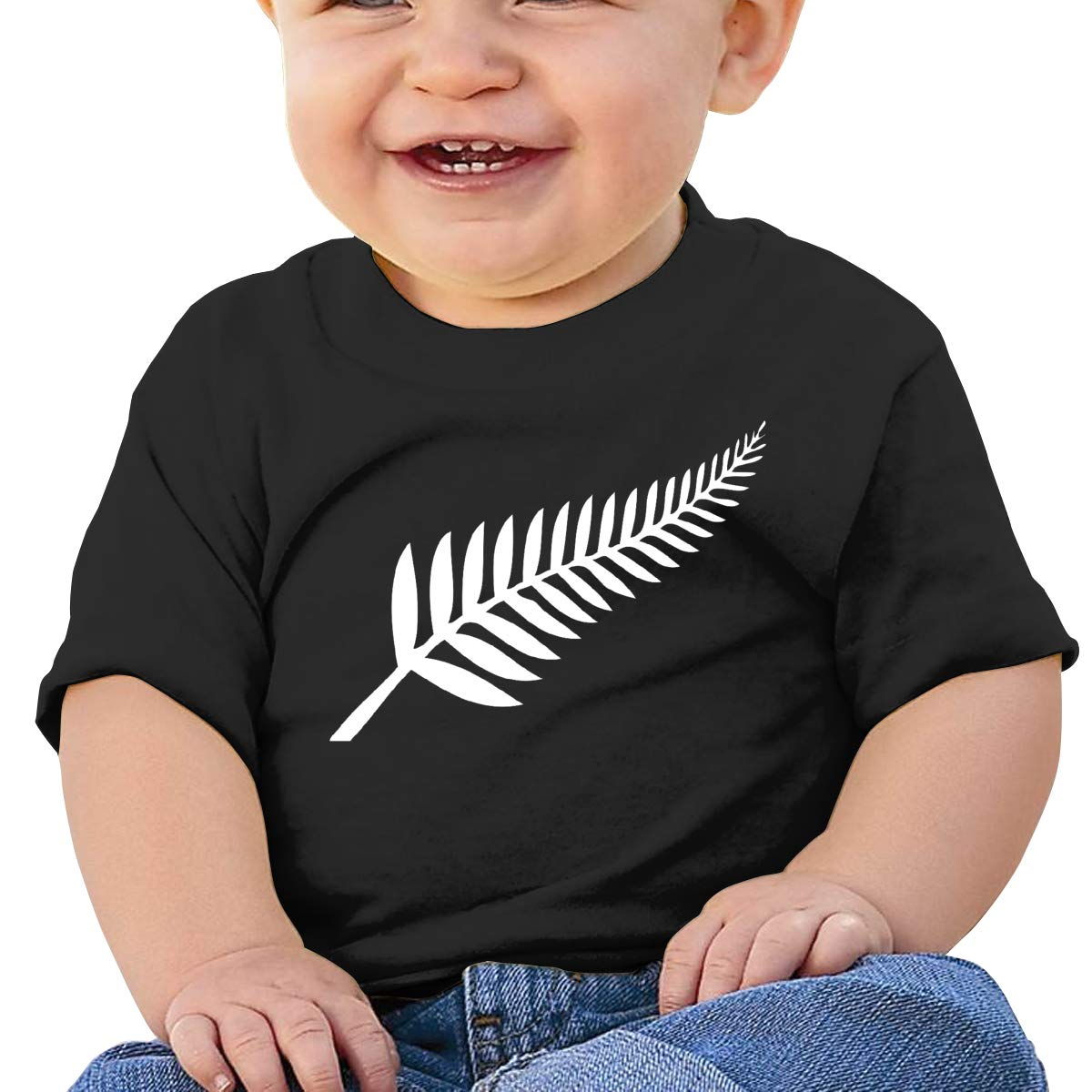 JVNSS New Zealand Baby T-Shirt Little Baby Cotton T Shirts Funny Basic Shirt for 6M-2T Baby