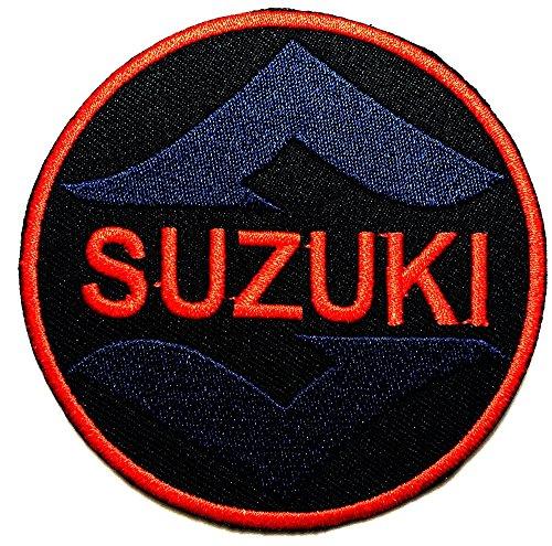 SUZUKI Motorcycle Motocross Motogp Biker Racing logo patch Jacket T-shirt Sew Iron on Patch Badge Embroidery