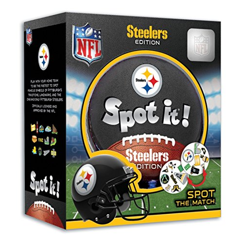 Game Pittsburgh Steelers - MasterPieces NFL Pittsburgh Steelers Spot It