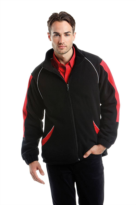 Formula Racing P1 Formula Racing Microfleece Jacket - Black/Grey - L