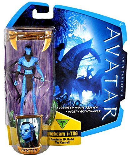 James Cameron's Avatar Movie 3 3/4 Inch Action Figure TsuTey