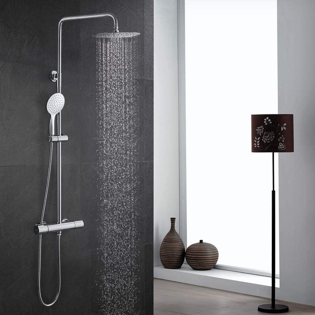 Sistema de ducha con termostato, ducha de lluvia, columna de ducha ...