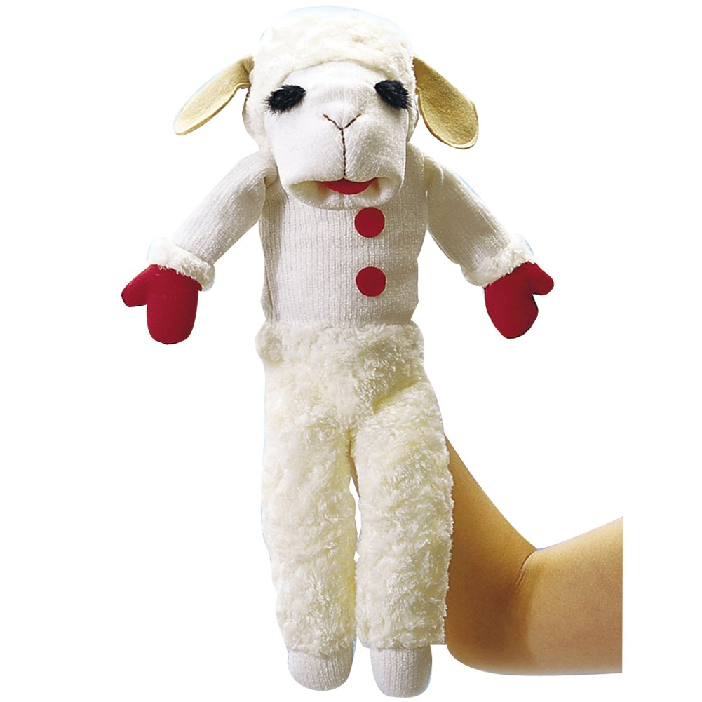 amazon com aurora world talking lamb chop puppet toys u0026 games