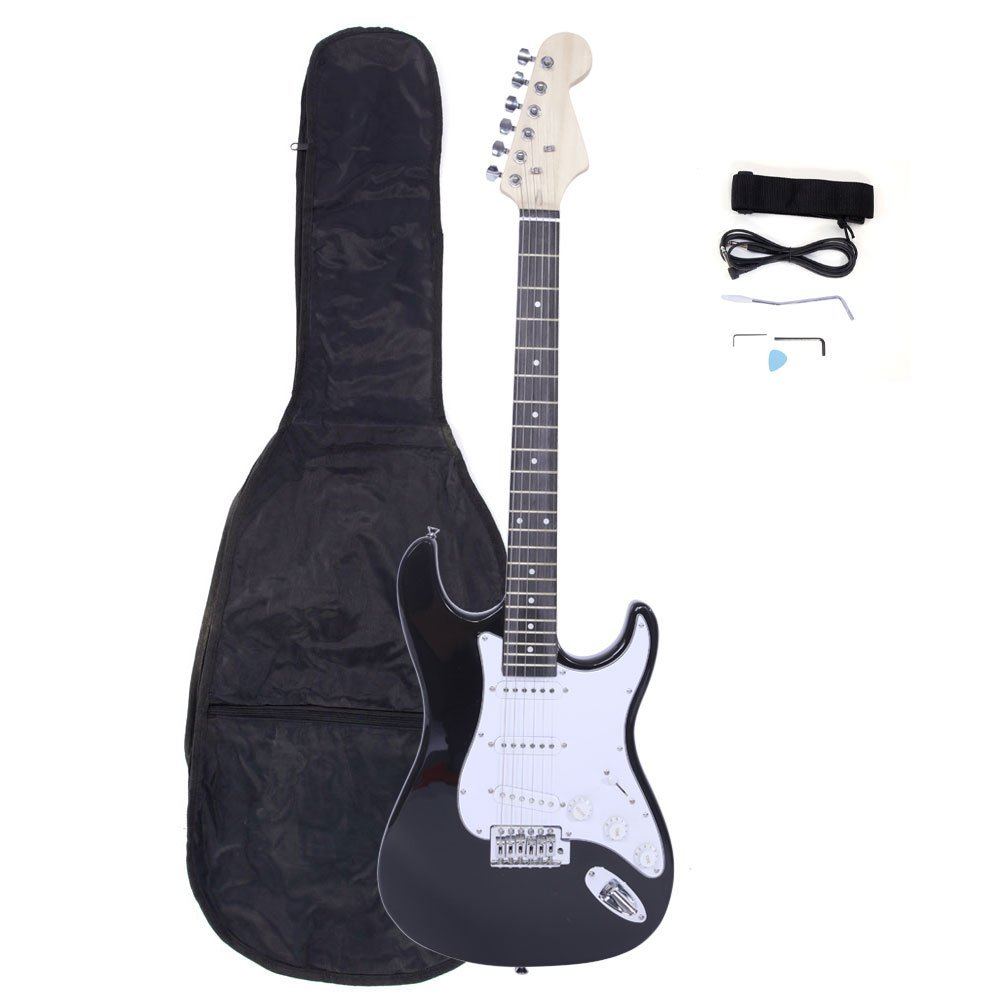 Rosewood Fingerboard Electric Guitar Monochrome
