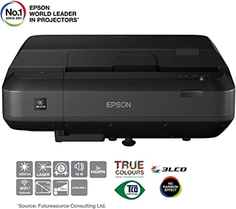 Epson Home Cinema EH-LS100 Video - Proyector (4000 lúmenes ANSI ...