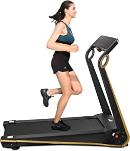 Fisup Foldable Smart Treadmill for Home Office Use Exercise Walking Jogging Silent with APP Installation Free