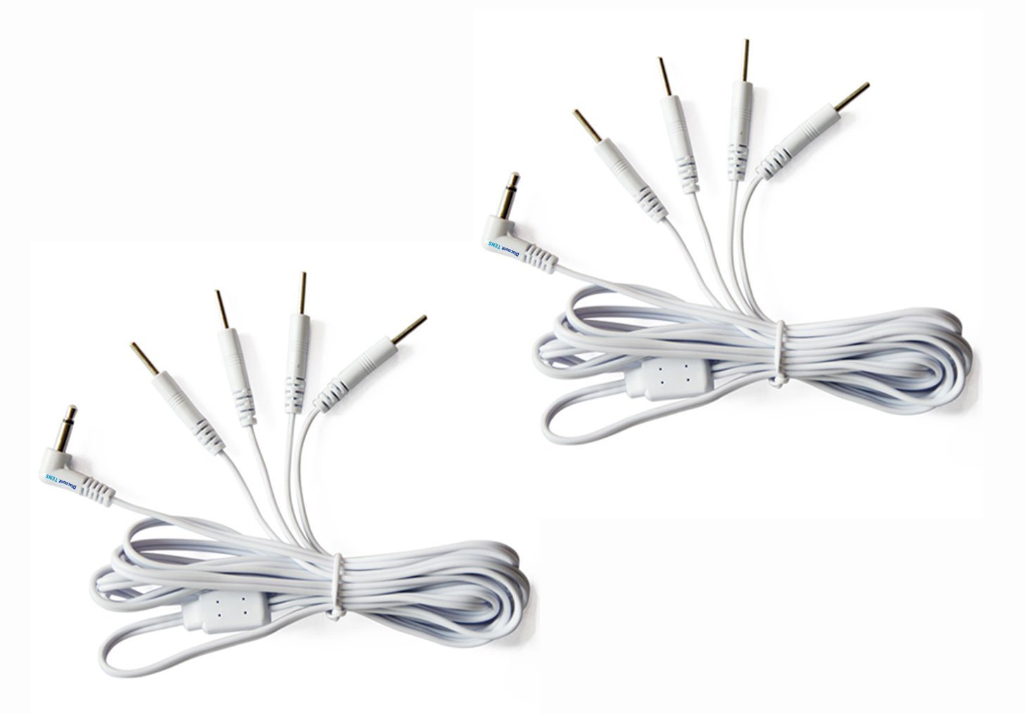 Amazon.com: Tens Lead Wires - 3.5mm plug to Two 2mm Pin Connectors ...