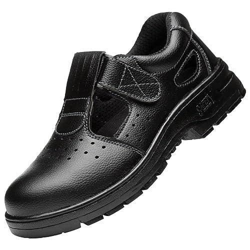 Con De Tapa Seguridad Para Acero Hombre Zapatillas Zapatos Trabajo Fv4ZqZ
