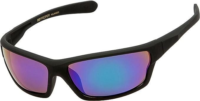 b465f8ddac7e1 Amazon.com  DEF Proper Polarized Wrap Around Sports Sunglasses ...
