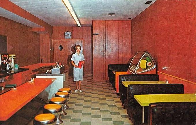 Dunnville Ontario California Embers Dining Room Jukebox Vintage Postcard  K84048