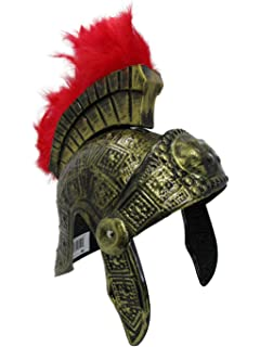 f50a4363ff1 Amazon.com  Roman Trojan Warrior Spartan Soldier Costume Helmet with ...