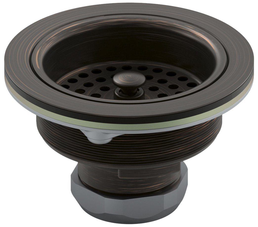 Kohler K-8799-2BZ Duostrainer Sink Strainer, Oil Rubbed Bronze