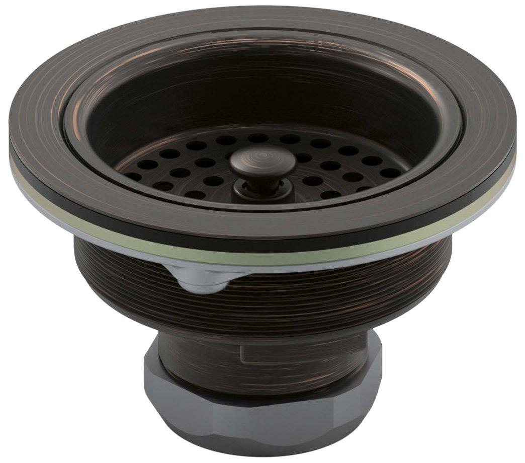 Kohler K-8799-2BZ Duostrainer Sink Strainer, Oil Rubbed Bronze