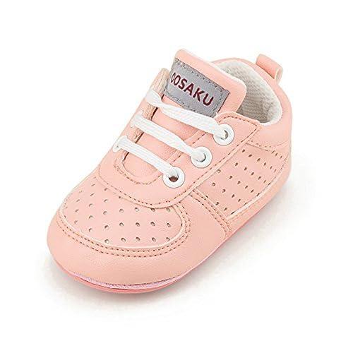 4ac076e59242b OOSAKU Zapatos de bebé niño Zapatos de Cuna Antideslizante niño pequeño  Zapatillas Zapatillas de Deporte  Amazon.es  Zapatos y complementos