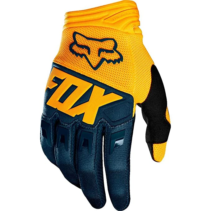 Fox Racing 2019 Dirtpaw Gloves (LARGE) (NAVY/YELLOW)