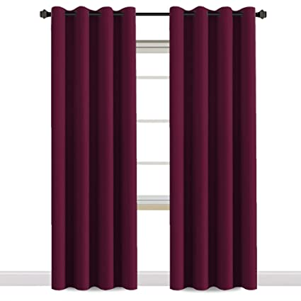 HVERSAILTEX Thermal Insulated Blackout Ultra Soft Elegant Window Curtains For BedroomChristmas Deals