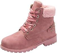 Beladla Zapatos De Mujer Estilo BritáNico Botas Navidad Zapatos De OtoñO E Invierno Botines Zapatos De Invierno Tacones TacóN Zapatillas Interiores