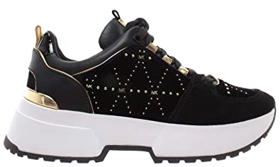 4d807d61e528 Michael Kors Cosmo Trainers Black  Amazon.co.uk  Shoes   Bags