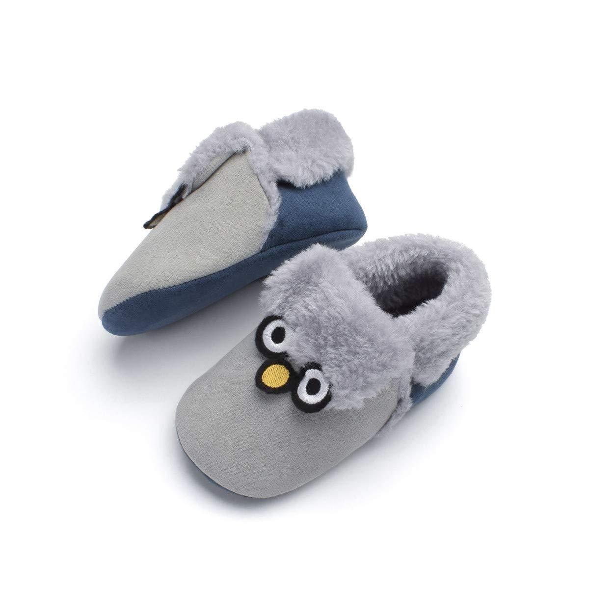 wwffoo Cute Baby Girls Newborn Infant Cartoon Anti-Slip Home Shoes Sneaker 0-15 Months