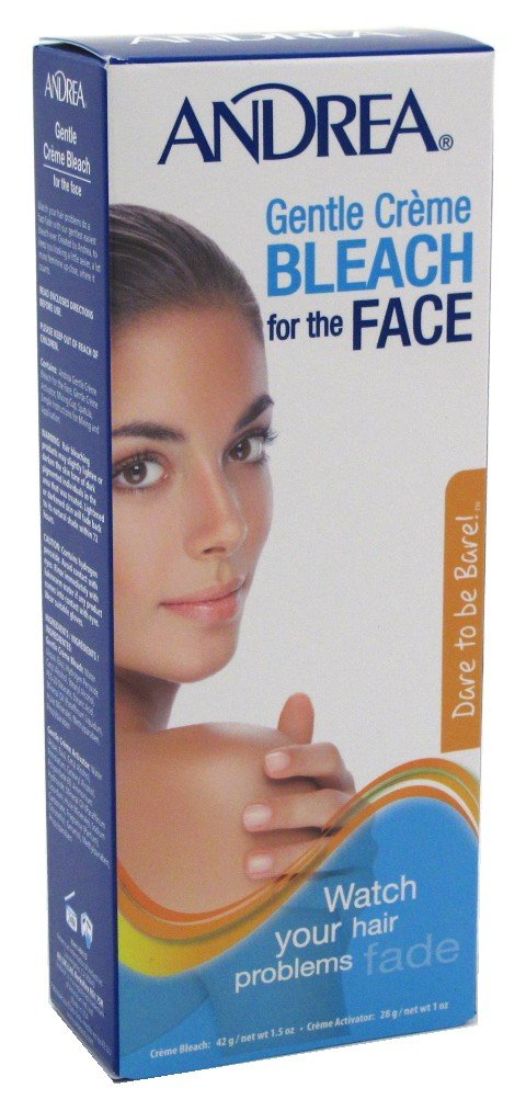 Andrea Creme Bleach Gentle For Face (2 Pack)