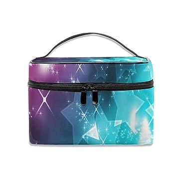 Amazon.com: Colorido bolso de cosméticos para mujer de ...