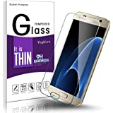 Galaxy S7 Screen Protector, Vegbirt Samsung Galaxy S7 Tempered Glass Screen Protector, Full Coverage Screen Protector Film for Samsung Galaxy S7