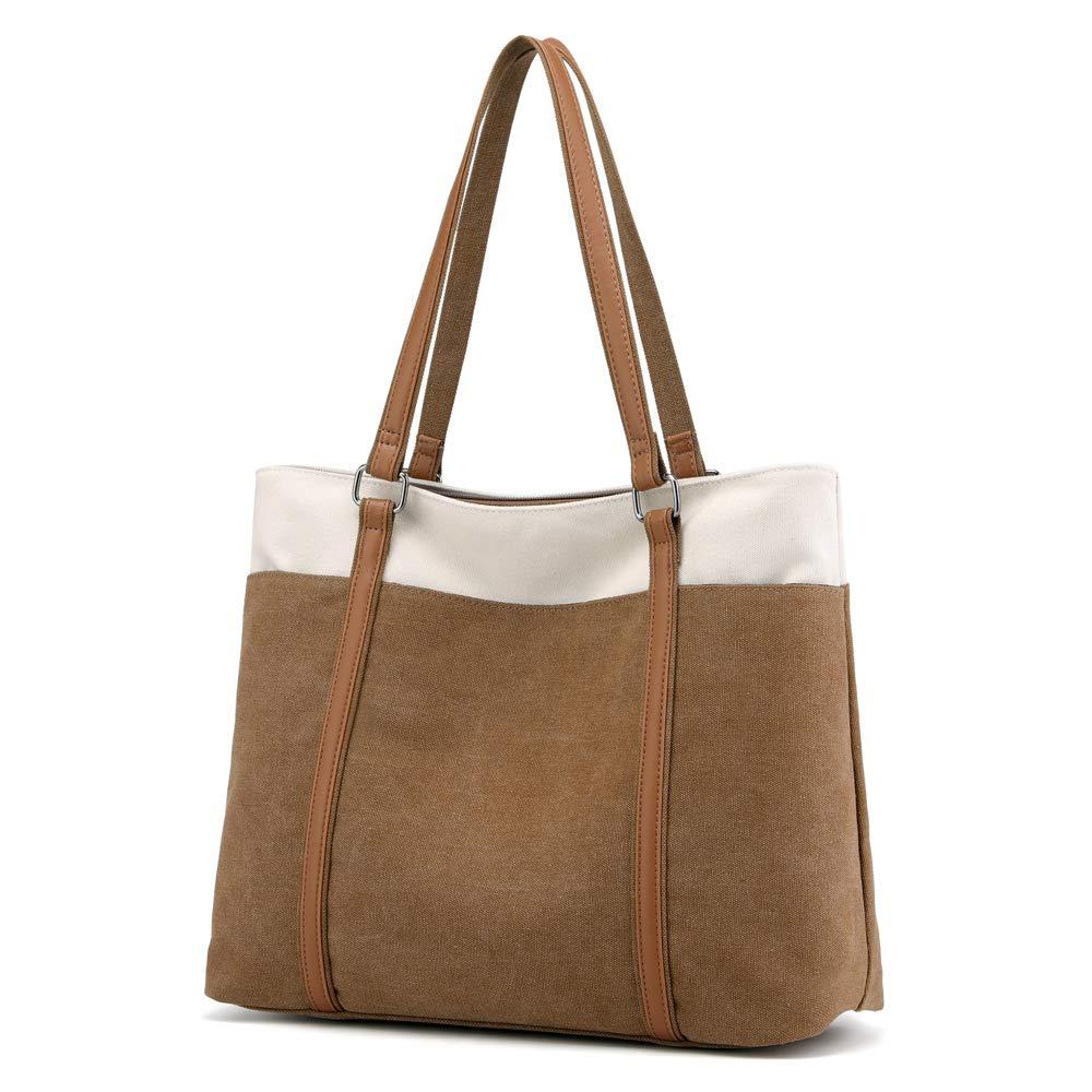 Women Large Canvas Handbags Hobos Single Shoulder Bag Travel Shopping Tote Bag