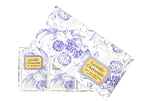 Greenwich Bay Trading Co. Shea Butter Soap, 12.9 Ounce, Lavender Chamomile, 3 Pack