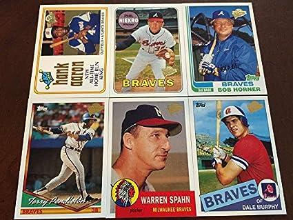 Amazoncom 2003 Topps Fan Favorites Atlanta Braves Team Set