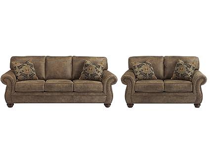 Amazon Com Signature Design By Ashley Larkinhurst Living Room Set