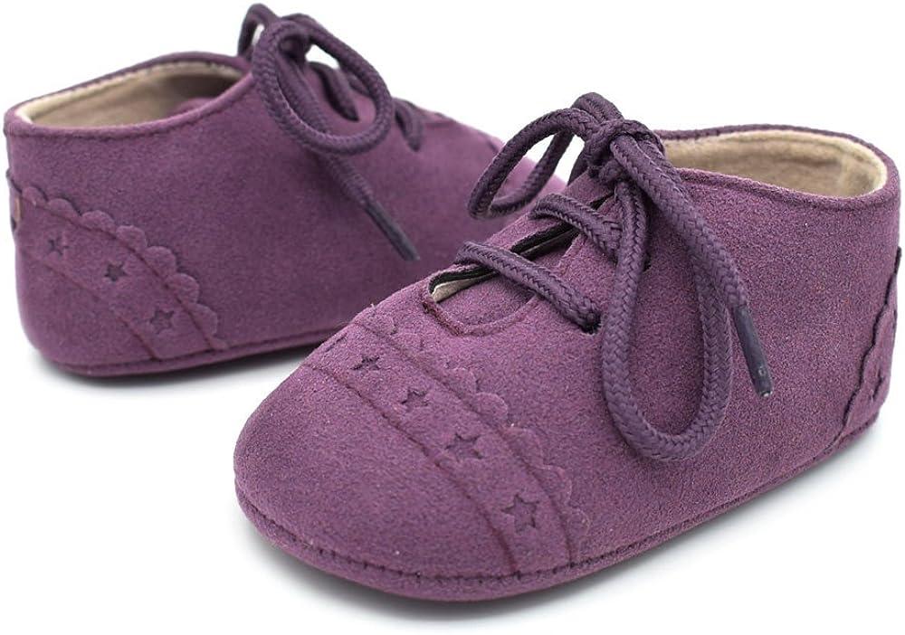 Heligen Kleinkind Schuhe Weihnachten Baby Kleinkind Schuhe Sneaker Anti-Rutsch-Soft-Sohle Schn/ürschuhe