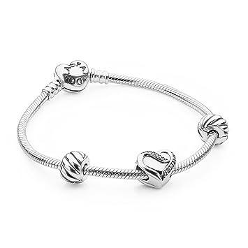 pandora usb794819 valentine 2016 filled with love bracelet gift set - Pandora Valentines Bracelet