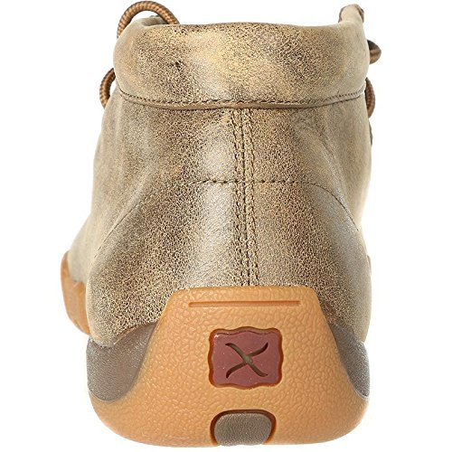 Twisted X Boots Mens Patchwork Driving Mocs 9 W Bomber/Tan by Twisted X (Image #3)