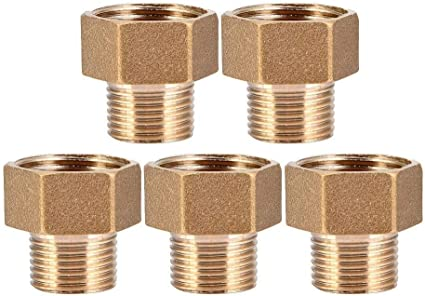 Beennex Straight Copper Reducer Brass Reducing Pipes Joint Connector