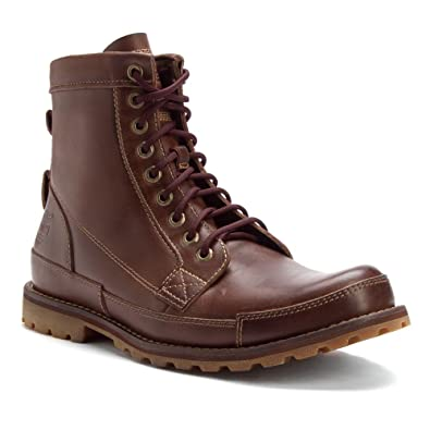 162875402842 Timberland Men s Earthkeepers Originals 6 Inch Boot Med BRN Oiled  Nubuck Tan 11.5 M