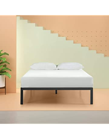 5ec086d47542 Zinus Mia Modern Studio 14 Inch Platform 1500 Metal Bed Frame   Mattress  Foundation   No