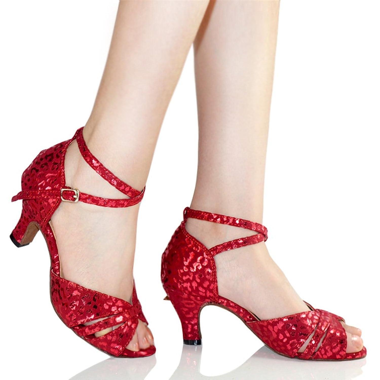 34f007c9 WYMNAME Mujeres Zapatos 20000 De Baile Latino,Zapatos De De Baile Zapatos  De De Baile Social Sandalia Rojo d040f48