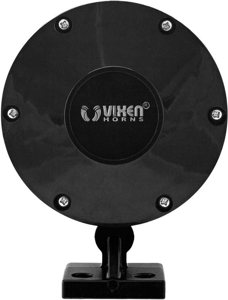 Extra Large Super Loud dB Vixen Horns Train Horn for Truck//Car Fits Vehicles Like Semi//Pickup//Jeep//RV//SUV VXH1909XB Heavy Duty ABS Air Horn Black Single Trumpet
